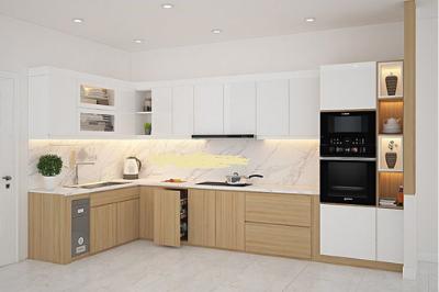 Tủ bếp Cn, Lõi xanh - PD14