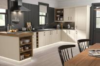 Tủ bếp gỗ Sồi Nga - PD37
