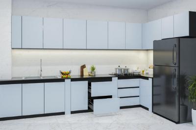 Tủ bếp Acrylic An Cường - PD18