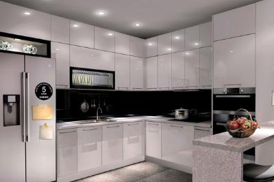 Tủ bếp Melaminate - PD10