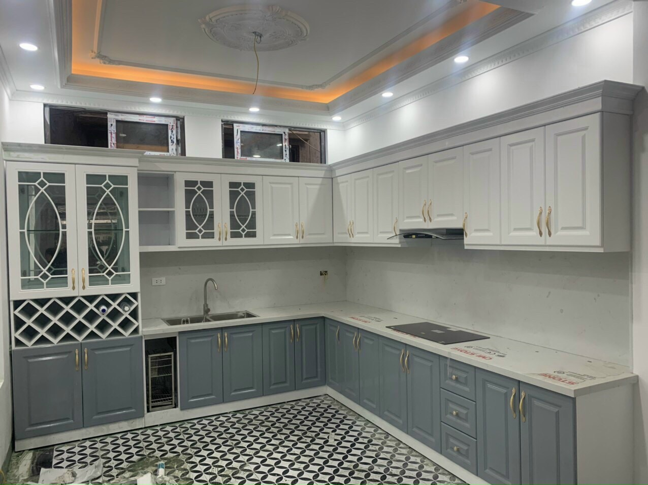 Tủ bếp Cn, Lõi xanh - PD20
