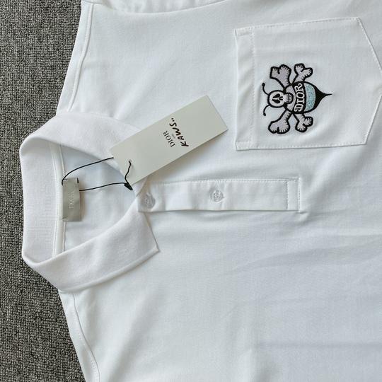 Áo Polo Dior ong túi - Trắng