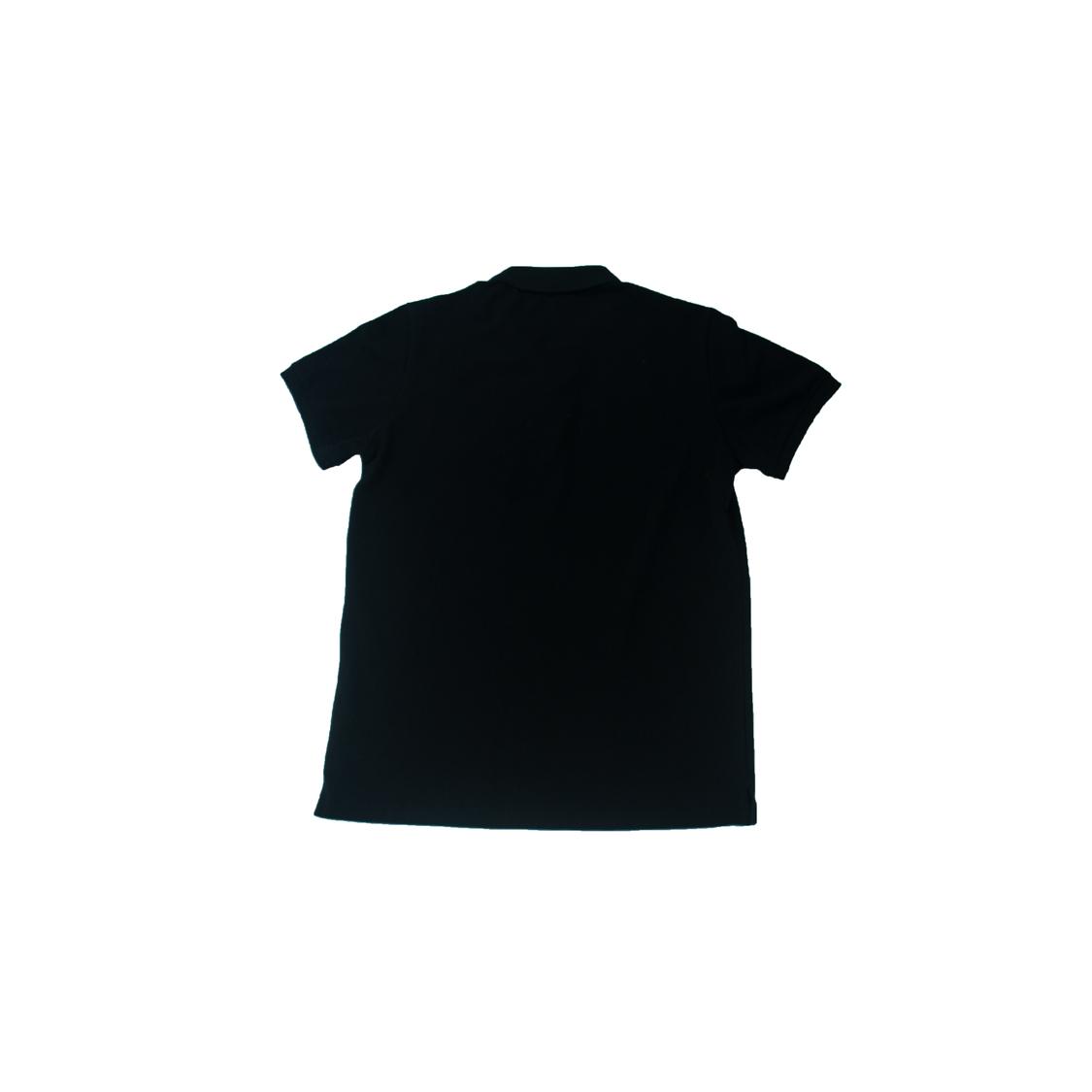 Áo Polo Givenchy Paris thêu ngực - Đen