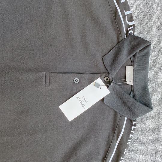 Áo Polo Dior chữ vai - Đen