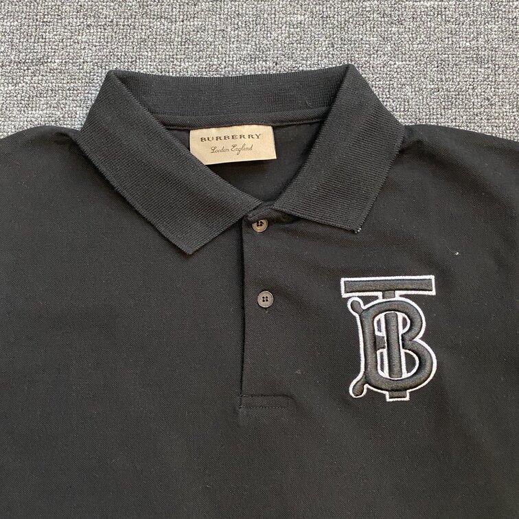 Áo Polo Burberry TB to - đen