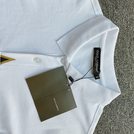 Áo Polo Dolce & Gabbana sao - Trắng