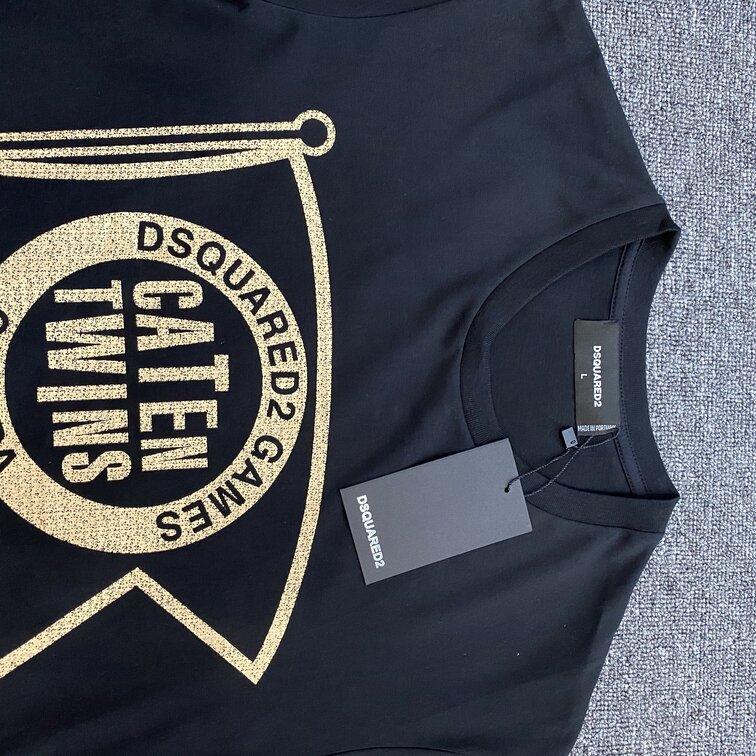 Áo phông Dsquared2 caten - đen