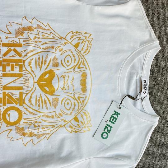 Áo phông Kenzo hổ vàng - Trắng