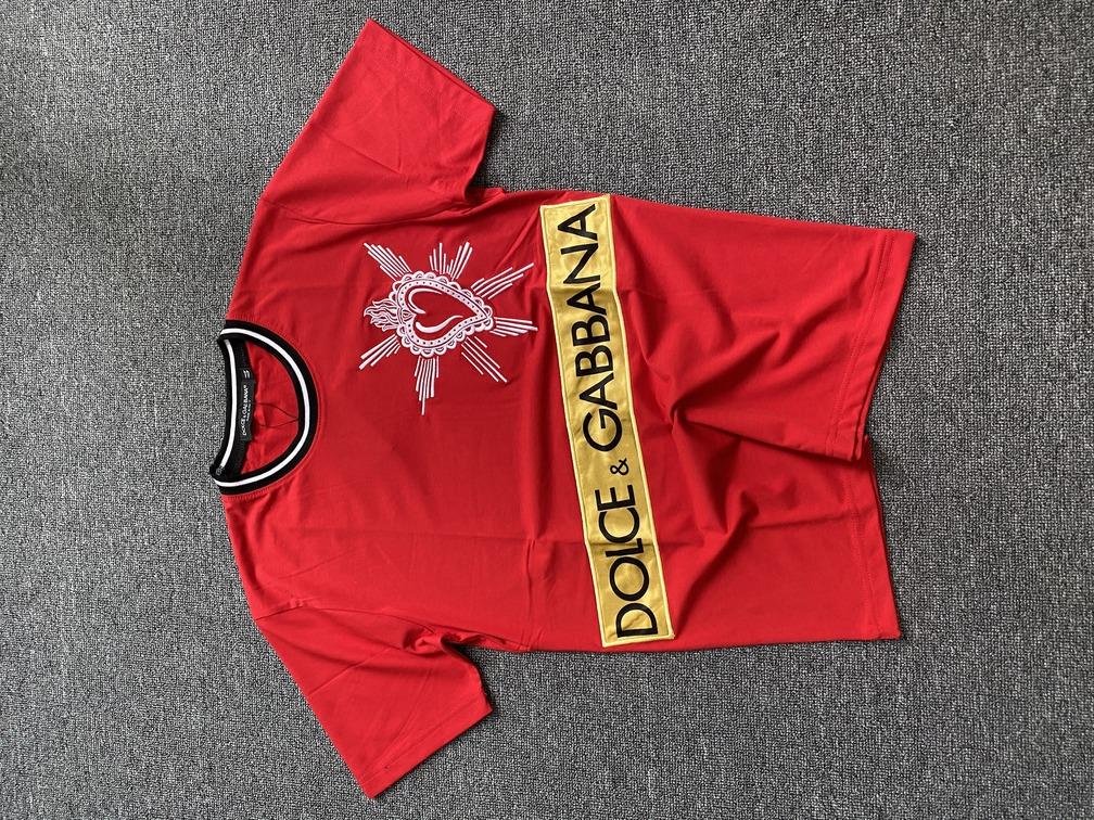 Áo phông Dolce & Gabbana tim - Đỏ