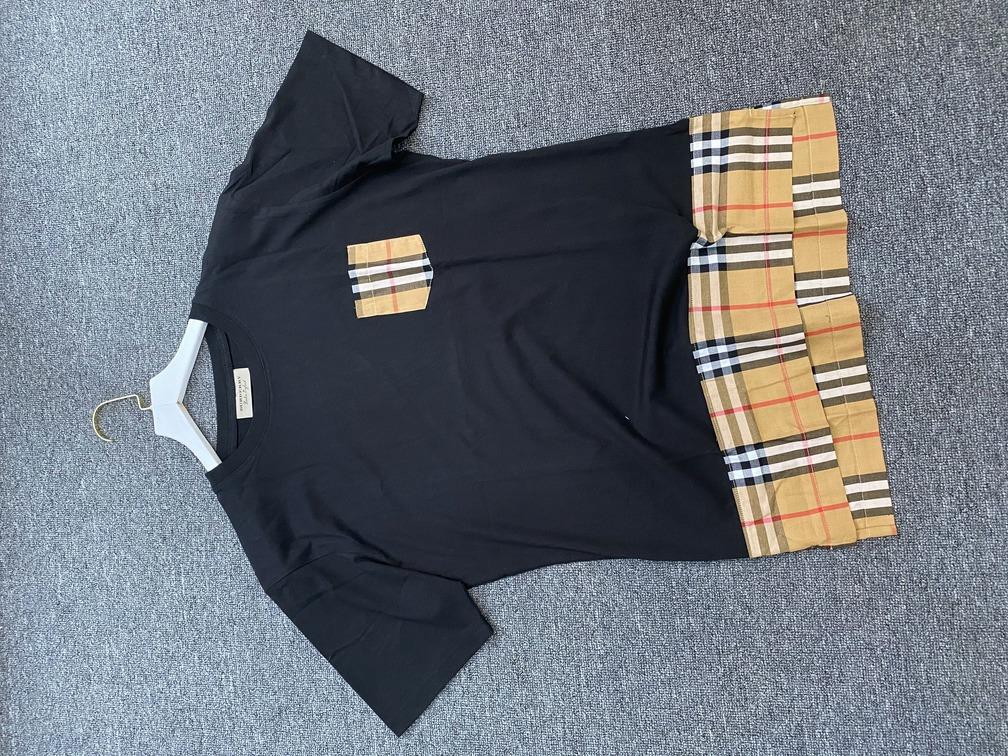 Áo phông Burberry vá gấu - Đen
