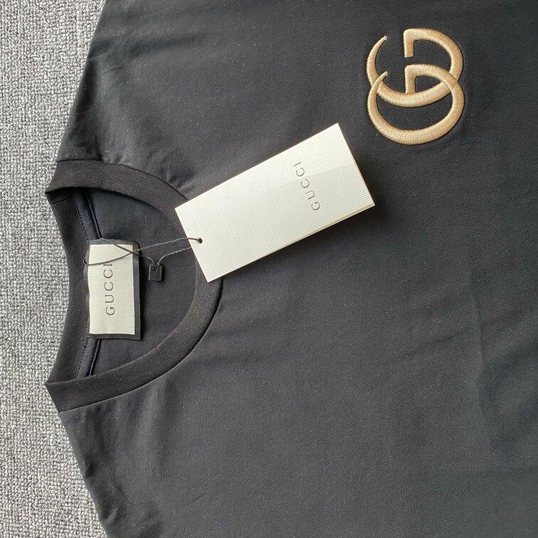 Áo phông Gucci viền tay - Đen