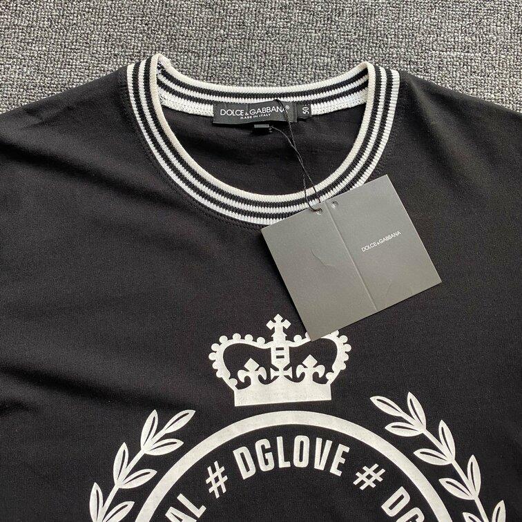 Áo phông Dolce & Gabbana lá - đen