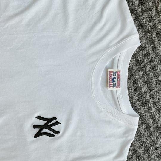 Áo phông NY Yankees trước sau - trắng