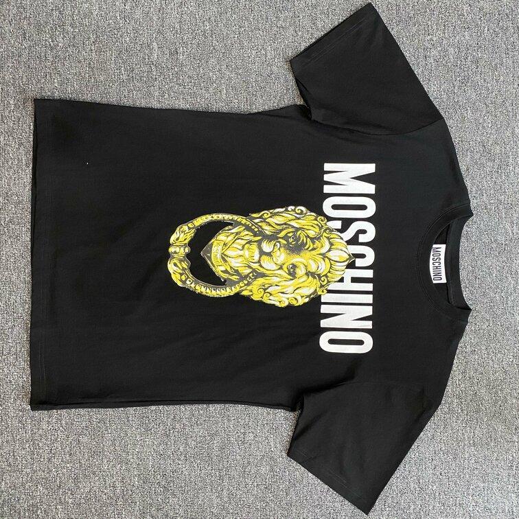 Áo Moschino sư tử vàng - đen