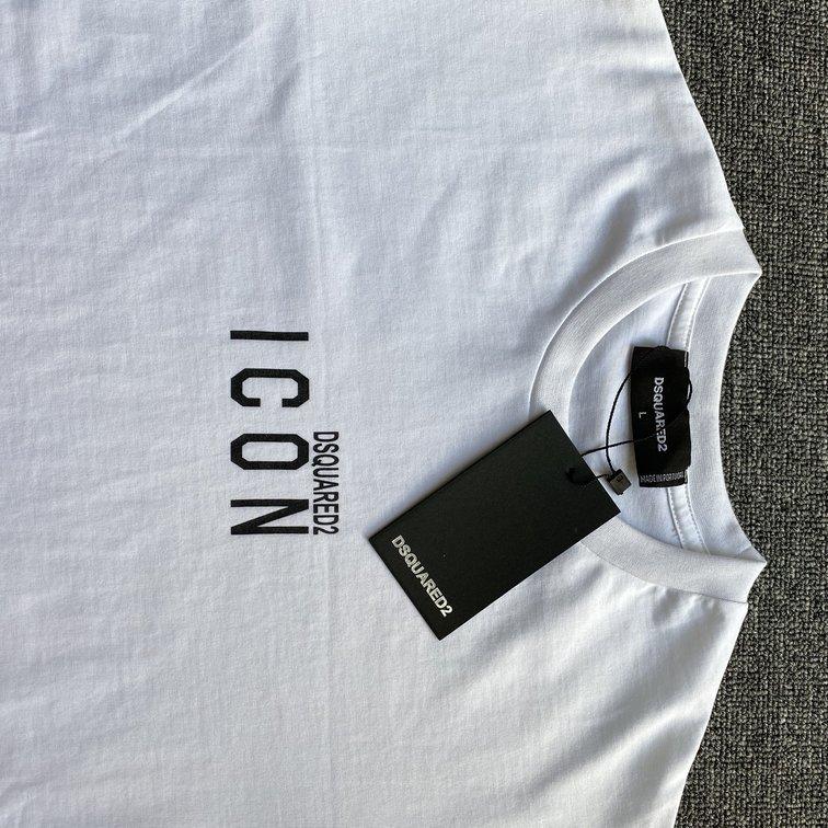 Áo phông Dsquared2 icon - trắng