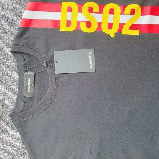 Áo phông Dsquared2 sọc - Đen