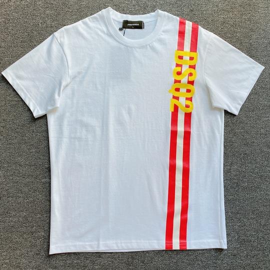 Áo phông Dsquared2 sọc - Trắng