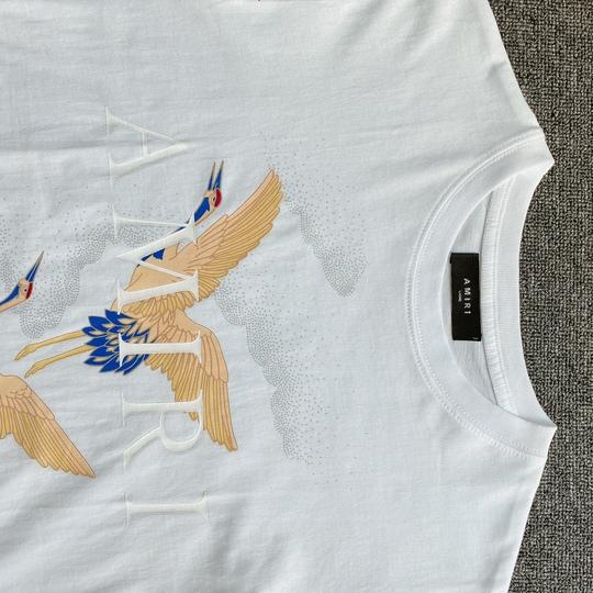 Áo phông Amiri chim - Trắng