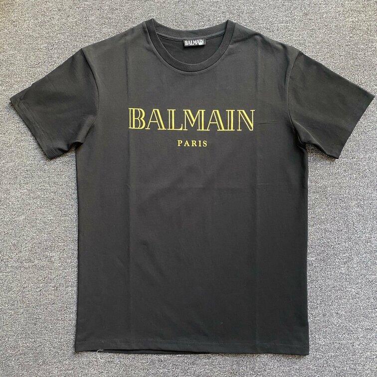Áo phông Bailman chữ vàng - đen