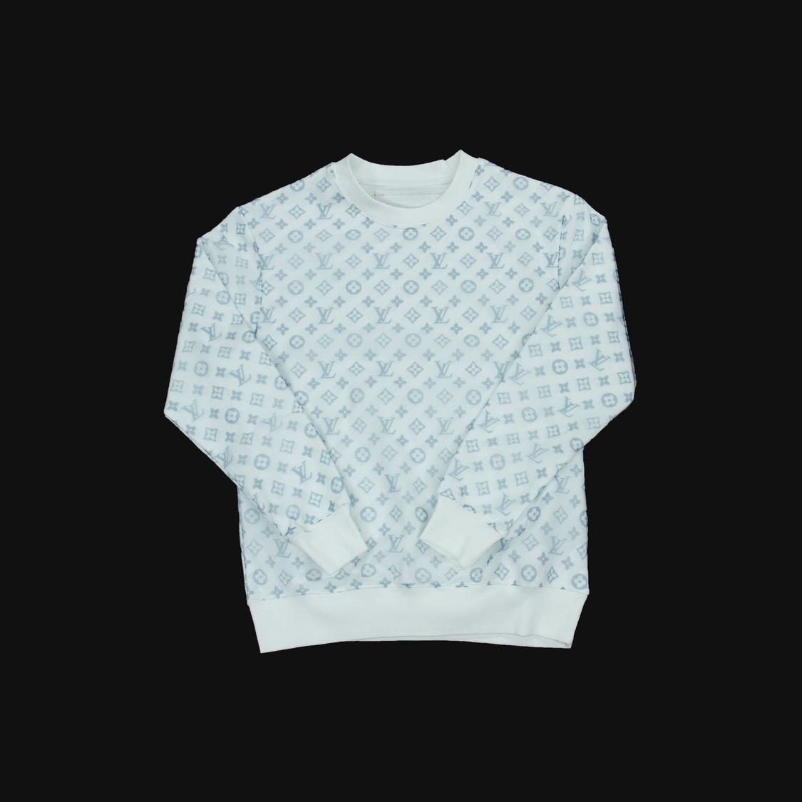 Áo nỉ Louis Vuitton lưới - trắng