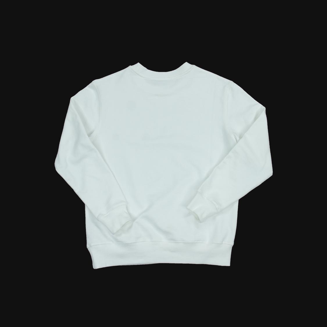 Áo nỉ Louis Vuitton đá khóa - trắng
