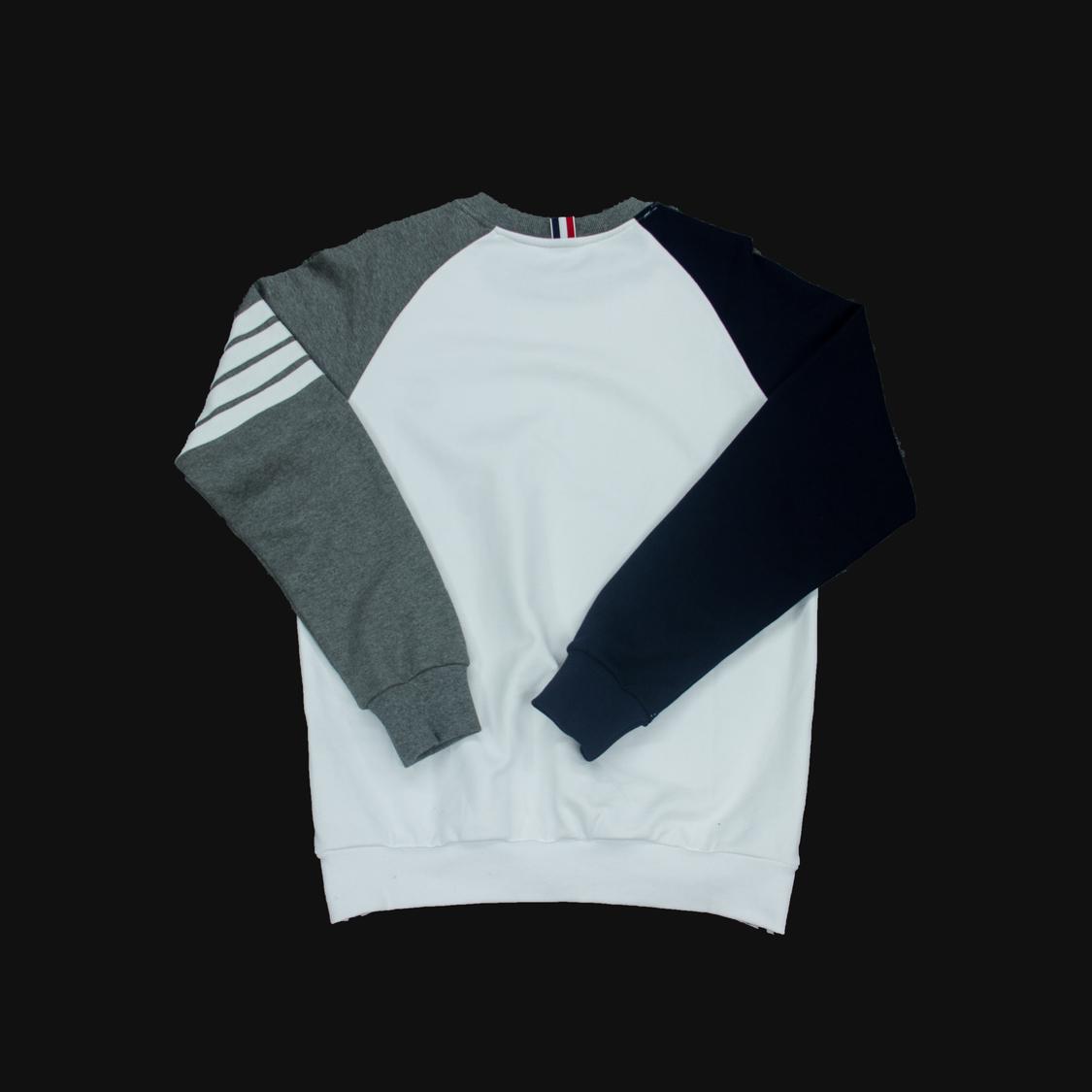 Áo Thom Browne tay xám đen - trắng