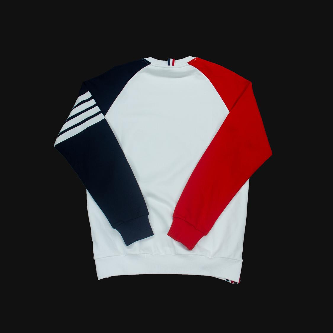 Áo Thom Browne tay đỏ đen - trắng