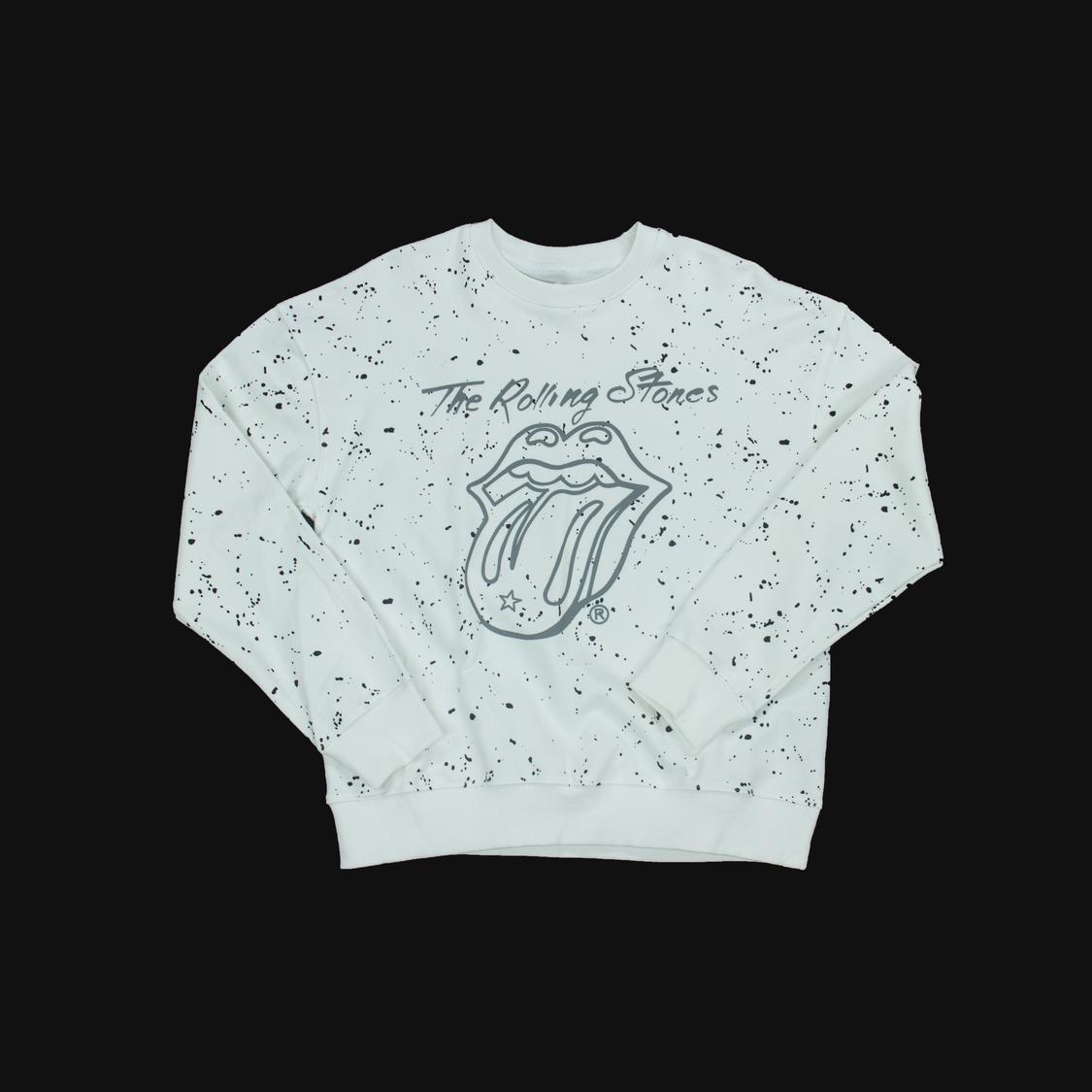 Áo Gucci môi vẩy sơn đen - trắng