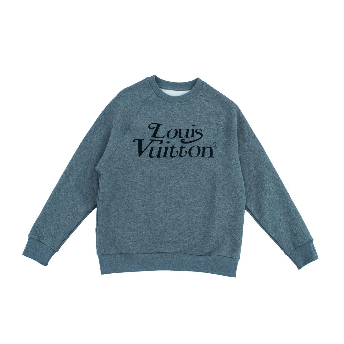 Áo nỉ Louis Vuitton - xám