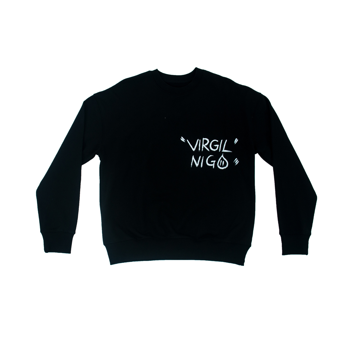 Áo Louis Vuitton chữ chim lưng - đen