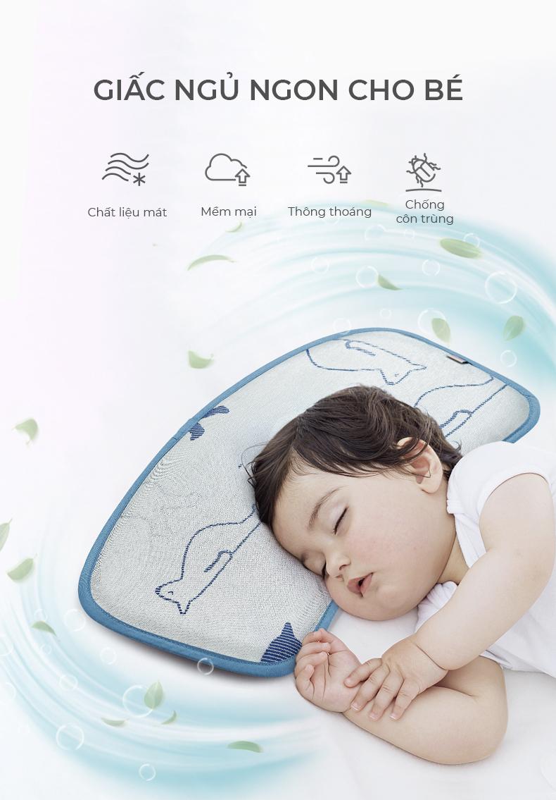 Gối ngủ chống bẹp đầu cho bé BC5129