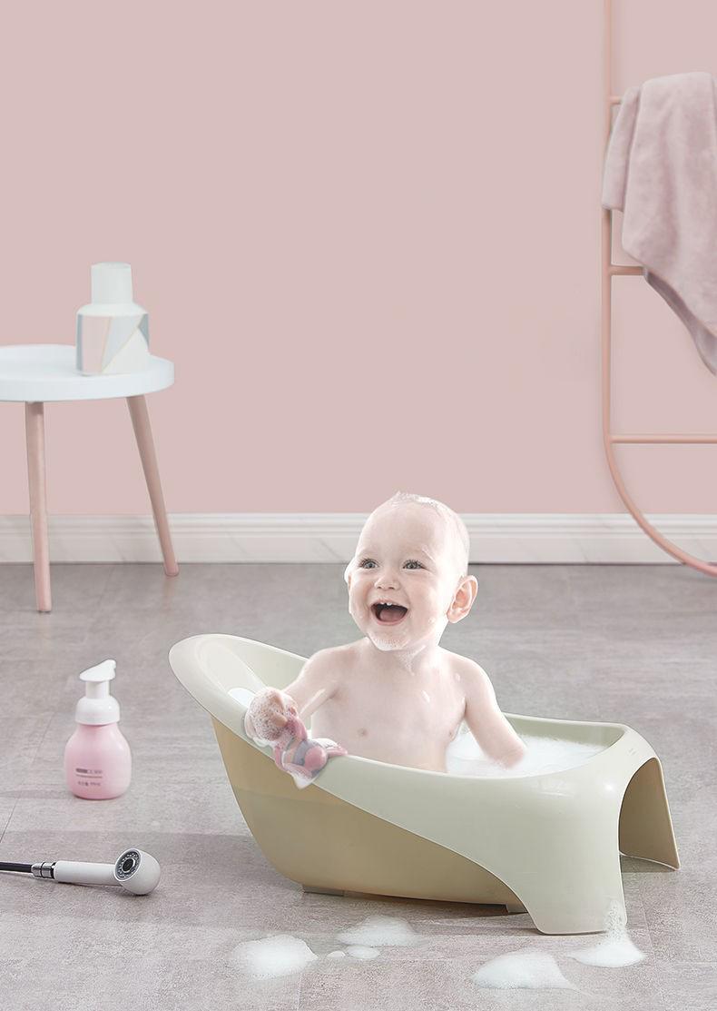 Chậu tắm nhỏ xinh cho bé BC3815