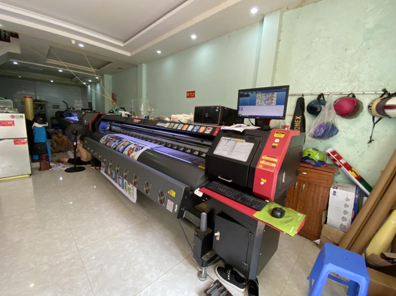 Lắp đặt máy in bạt khổ lớn 3m2 Taimes T5S cho Công ty quảng cáo Thái Bình Dương tại Hà Nội