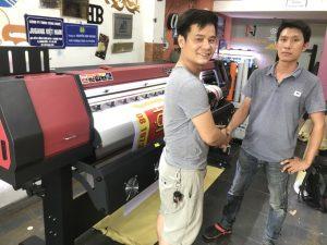 máy in kỹ thuật số khổ lớn
