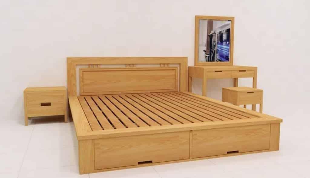 Gỗ thông dễ dàng thiết kế và tạo hình, đặc biệt chống co, giãn nở rất tốt