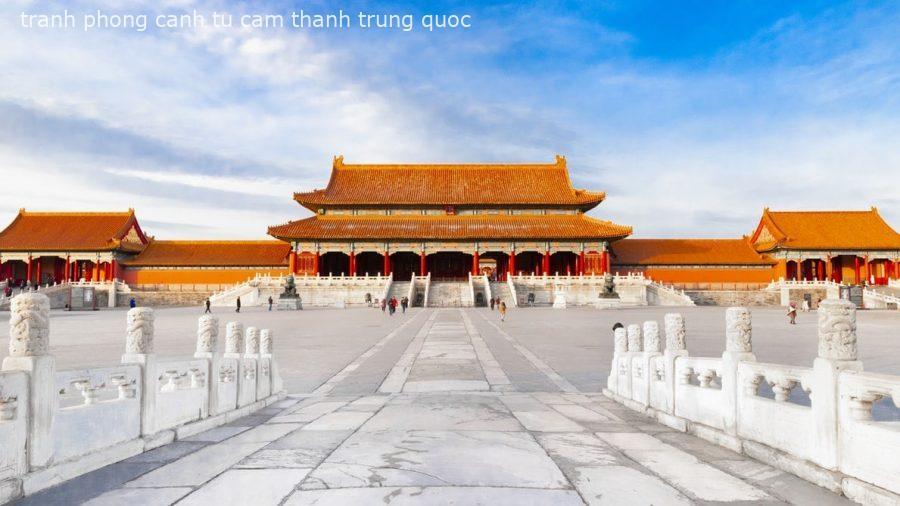 Tranh Phong Cảnh Trung Quốc