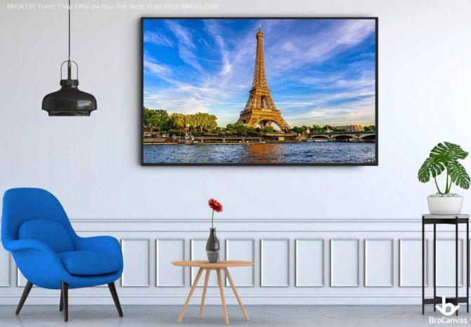 Tranh Phong Cảnh Nước Pháp