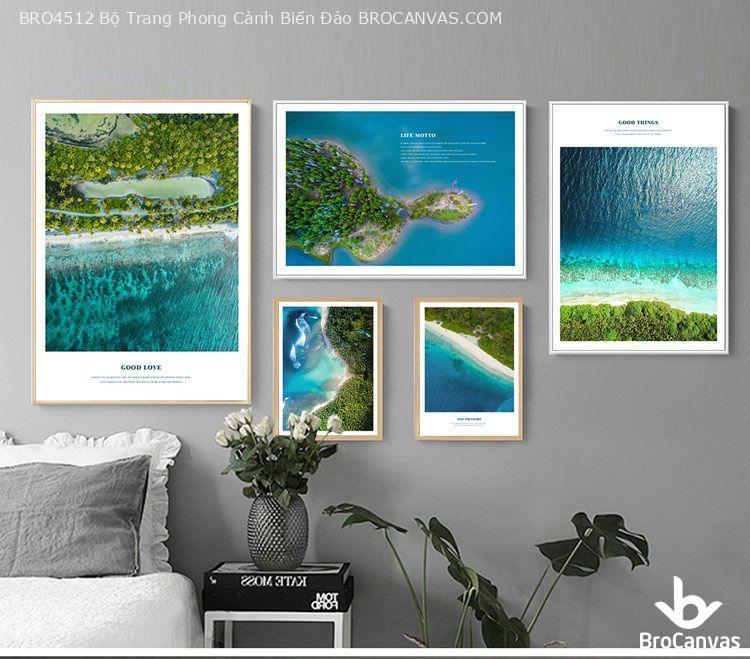 Bộ tranh phong cảnh biển đảo