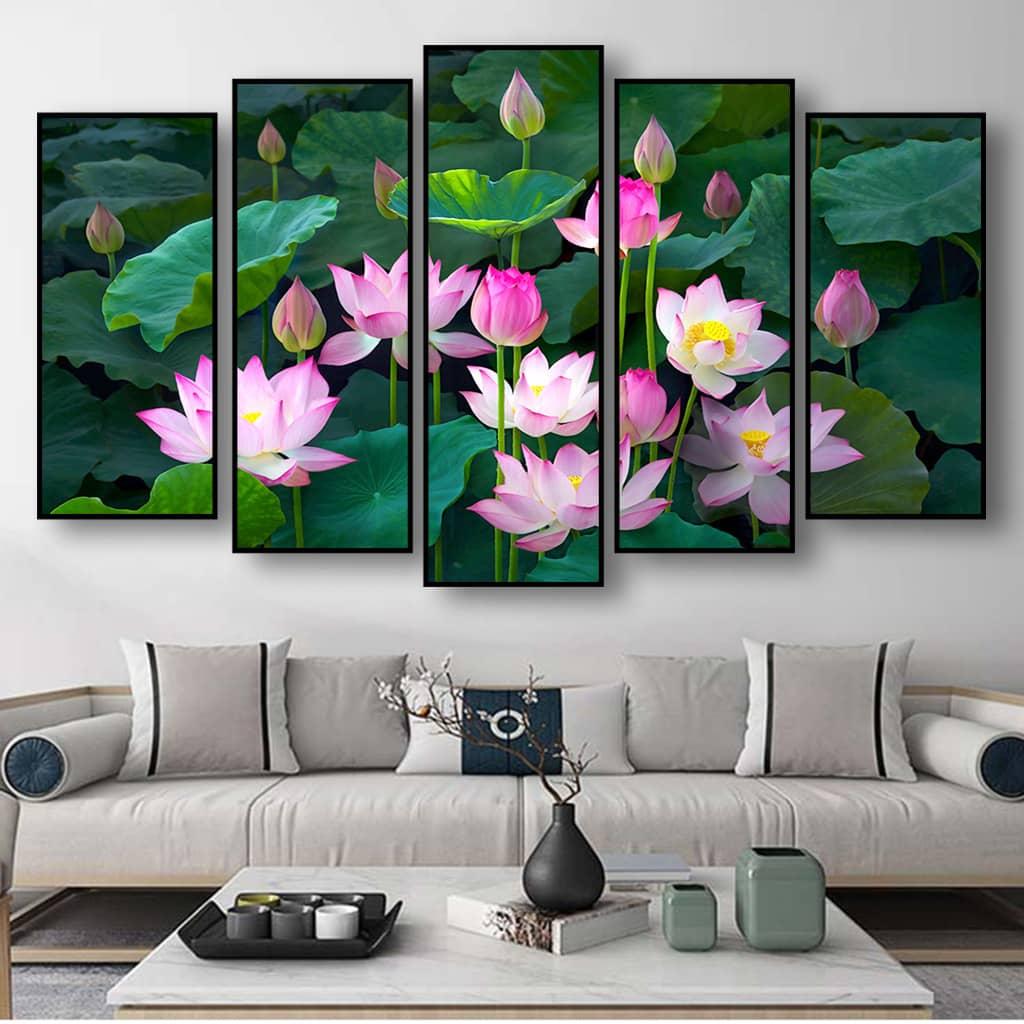 Bộ Tranh hoa sen Đẹp Nhất
