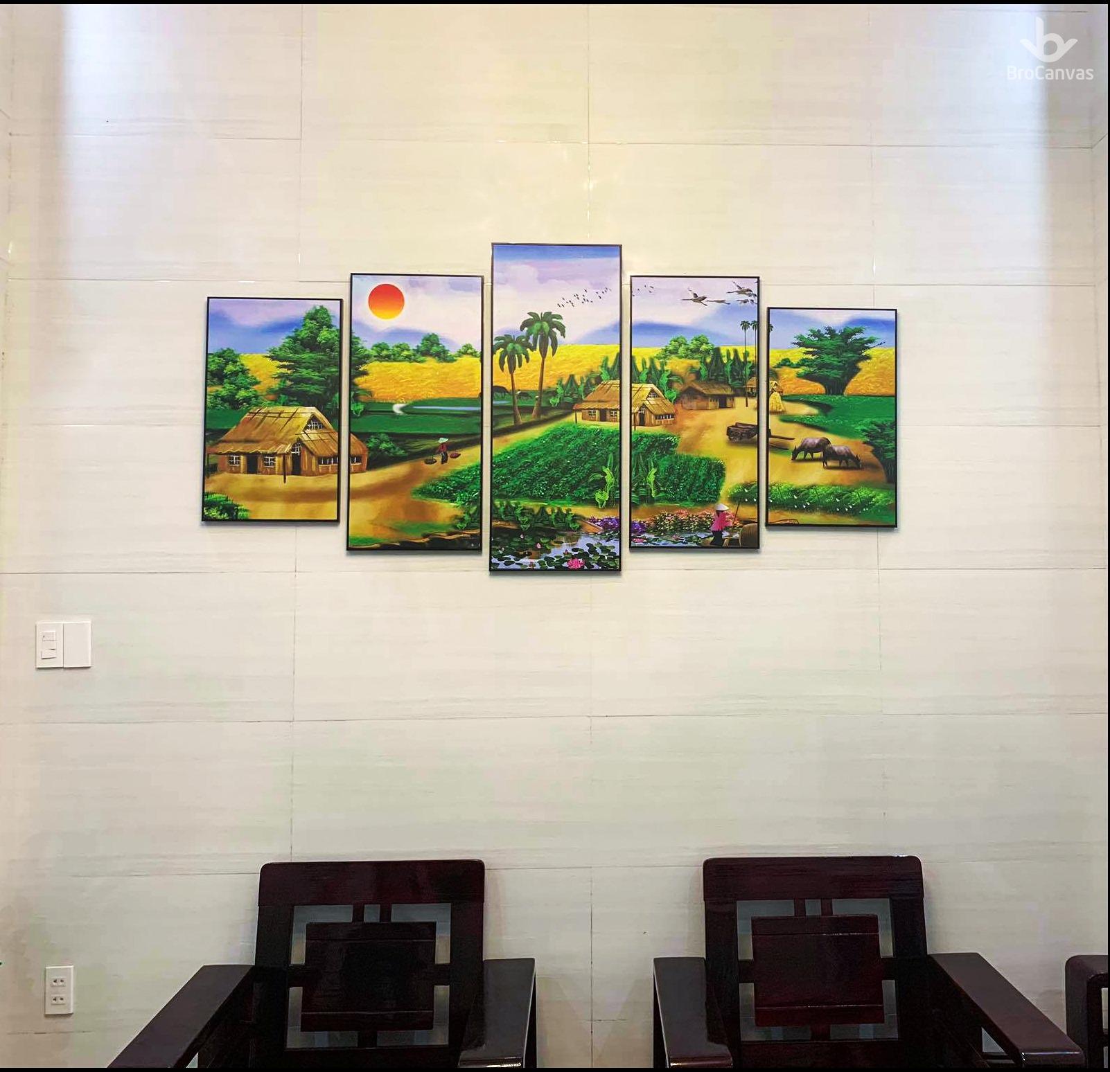 Tranh canvas giá rẻ có bền hay không?