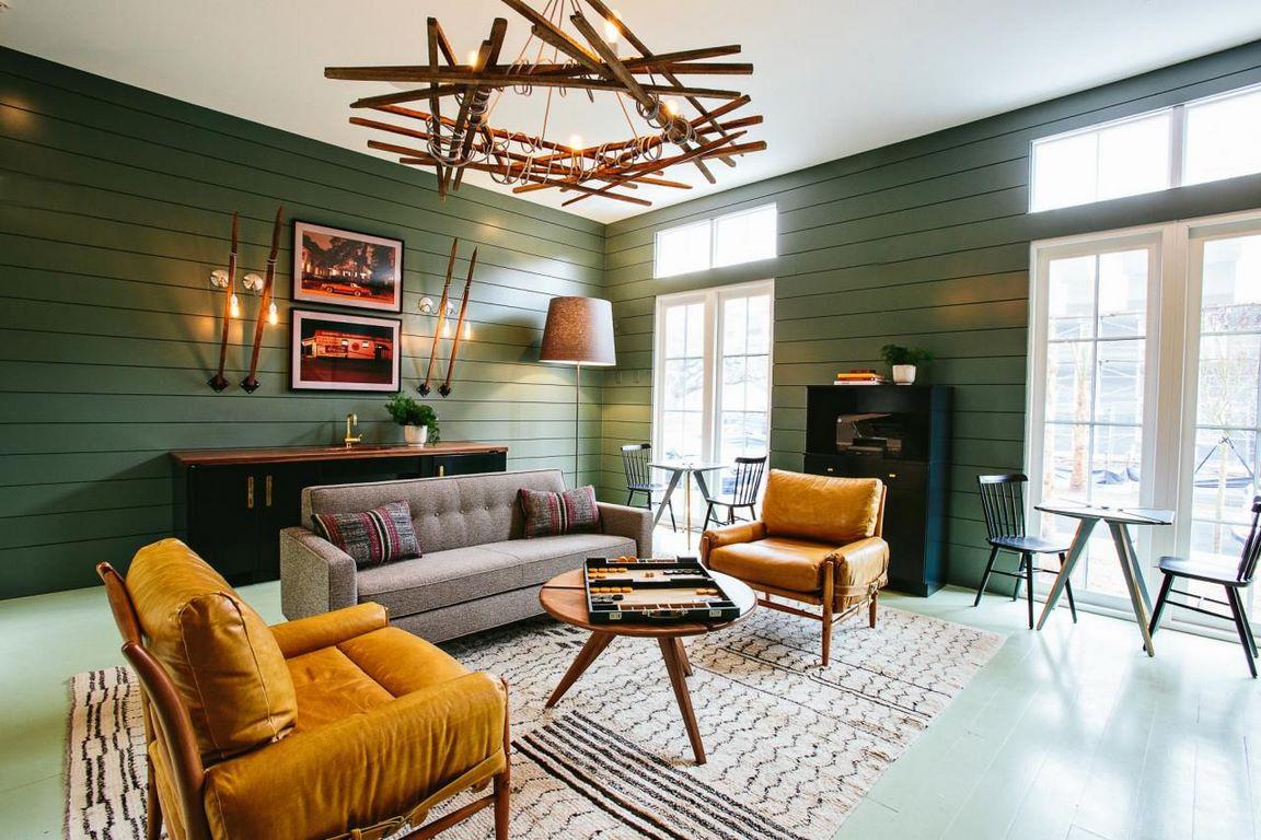 Đồ nội thất cổ điển pha chút hiện đại được ưa chuộng trong phong cách Retro