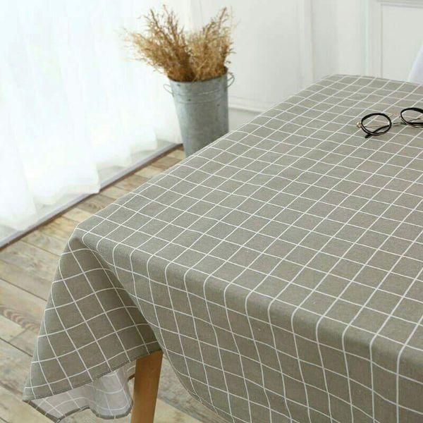 Tạo điểm nhấn cho không gian bằng khăn trải bàn từ vải bố
