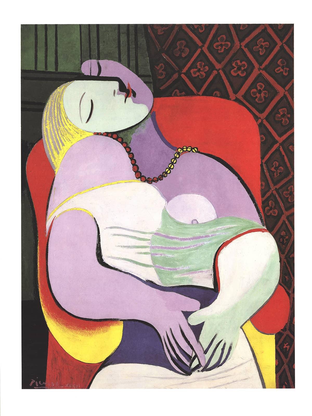 """Bức tranh """"Le Rêve"""" có giá 156.9 triệu USD"""