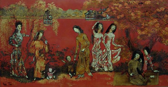 Nguyễn Gia Trí - Danh họa tạo ra kiệt tác nghệ thuật lộng lẫy