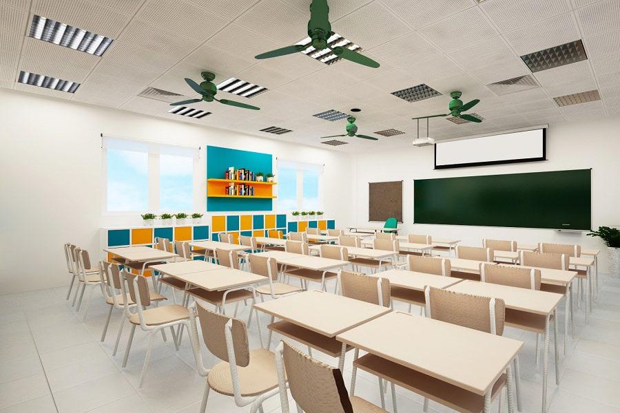 Thiết kế nội thất trường học vô cùng quan trọng tạo cảm hứng học tập cho học sinh