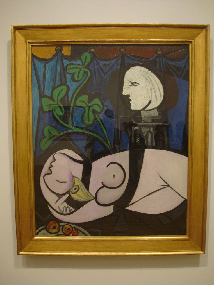 """Bức tranh """"Nude, Green Leaves and Bust"""" có giá 106,5 triệu đô"""