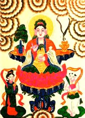 Tranh Phật Bà Quan Âm