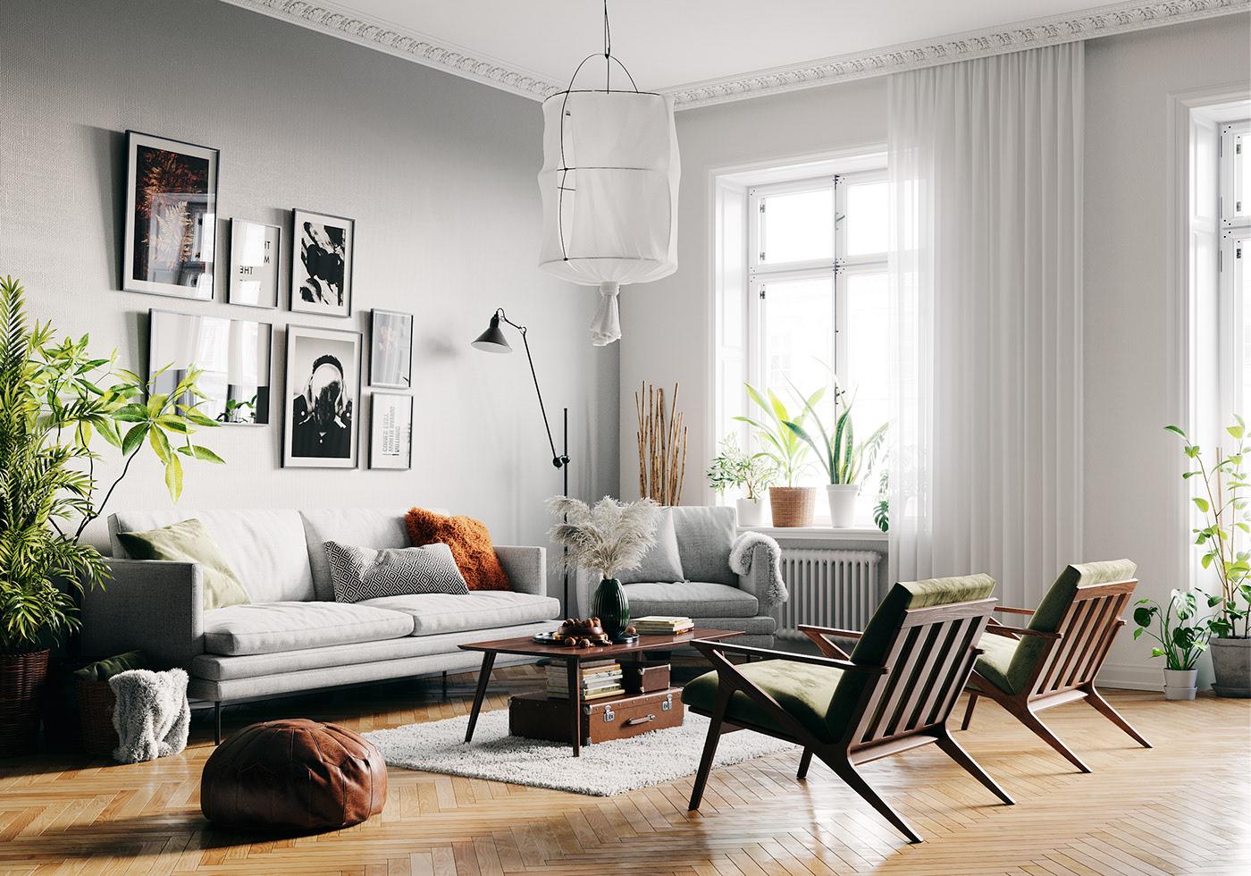 Phong cách Scandinavian với nhiều tiến trình phát triển