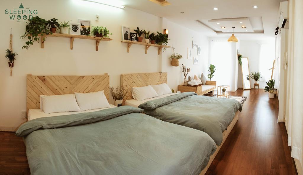 Phòng ngủ của Sleepingwood Homestay Đà Nẵng