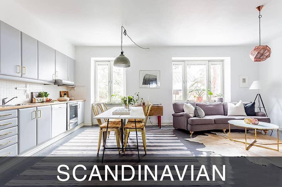 Scandinavian phong cách thiết kế đơn giản và tinh tế